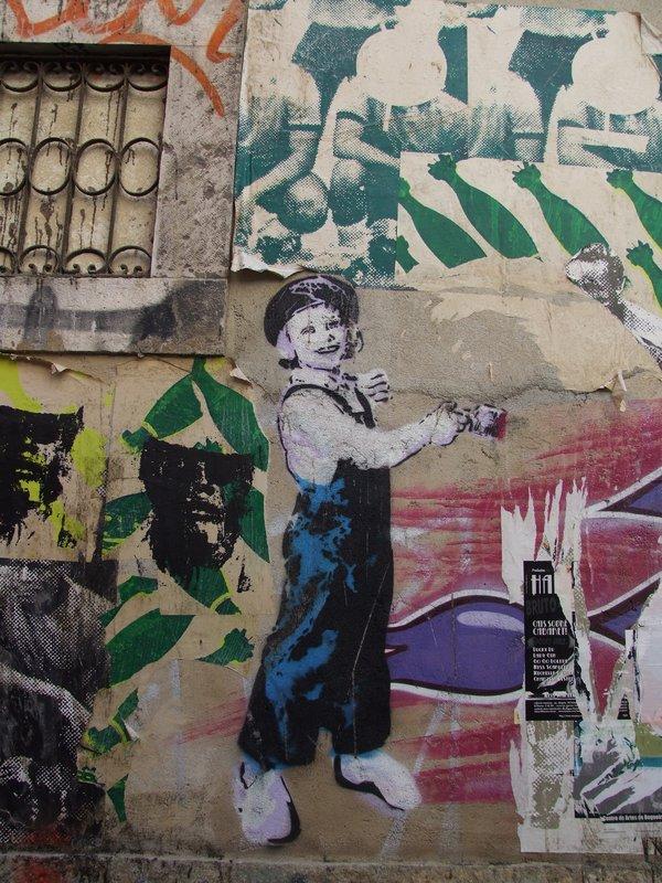Lisbon Wall Barrio Alto