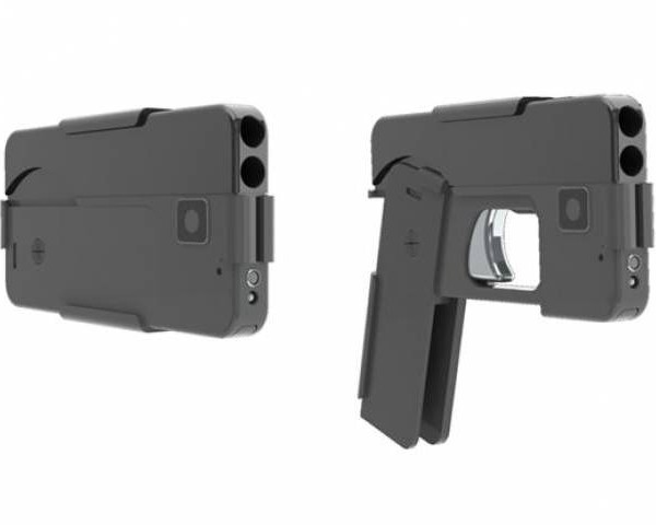 Smartphone-shaped Gun