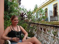 cuba libre on balcony