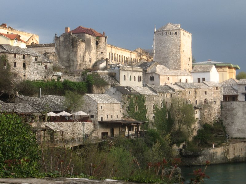 Mostar, the old town