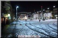 sneeuw in almere