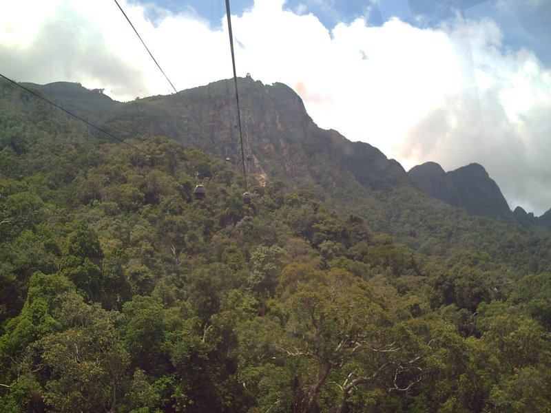 Cable ride to Mt Cincang
