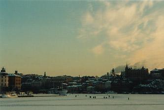 Stockholm - harbour