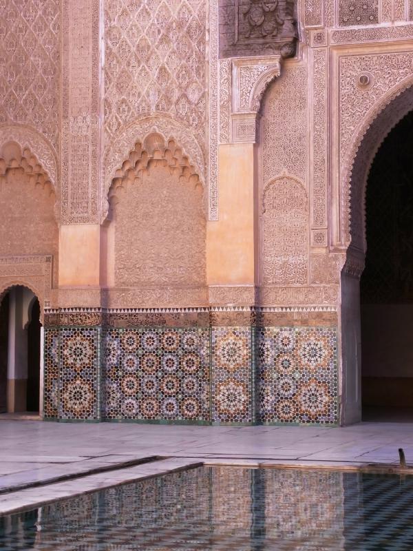 Marrakech - Ben Youssef old koran school 2011