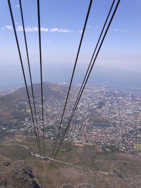 Cape Town - Table mountain cableview 2013