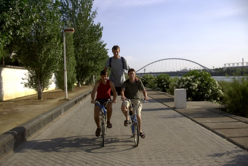 Sevilla - Cycling at Guadalquivir 2003