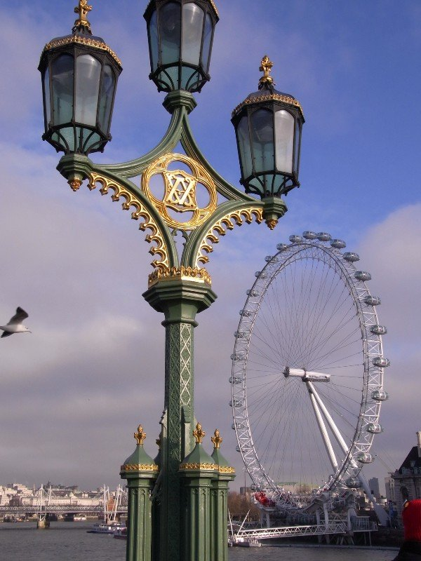 London Westminster - small London Eye 2010