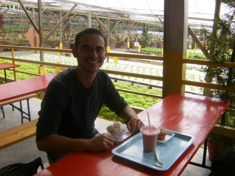 Steve at Big Red Strawberry Farm