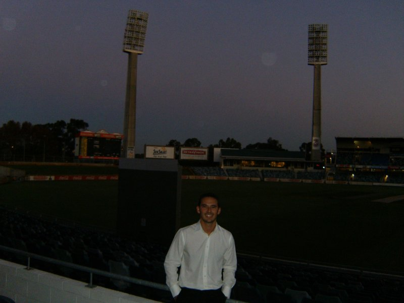 Steve's work-do at the WACA