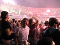 Steve at the Maracana Stadium, Rio de Janeiro