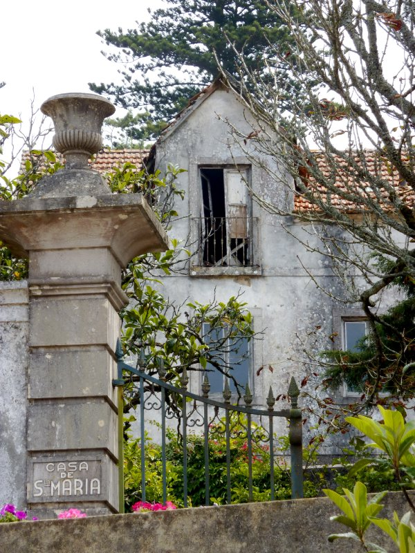Walk from Sintra up to Castle and other sights
