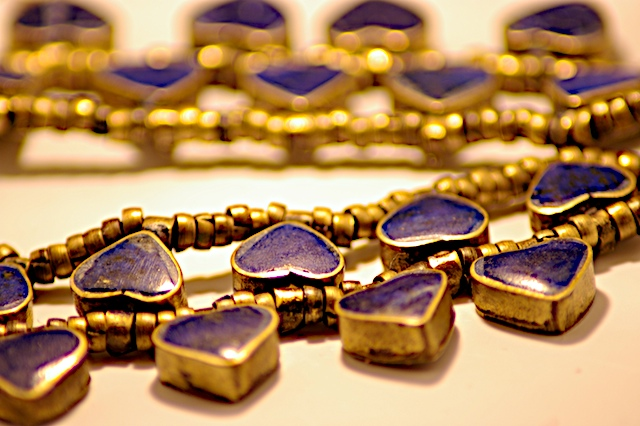Afghan Lapis Lazuli Necklace bought in Pakistan