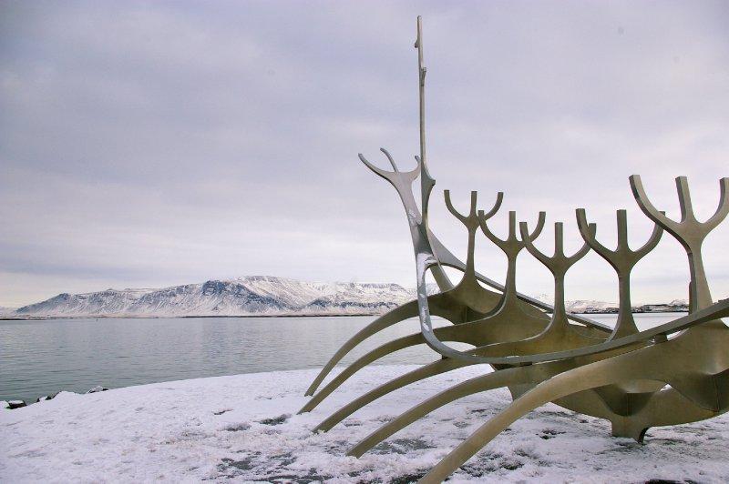 Solfar (Sun-Craft) Sculpture