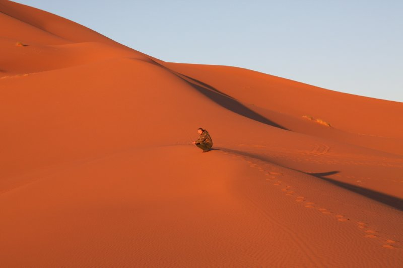 Solitude in the sands