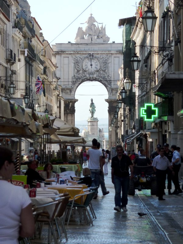 Lisbon City Streetscape
