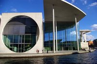 Modern architecture of Berlin