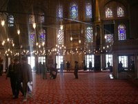 Inside the Blue Mosque 2