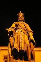 Statue of King Wenceslas in Wenceslas square