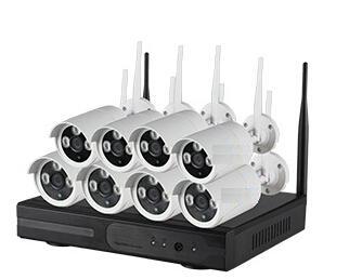8CH 720P Plug and Play WIFI NVR Kit