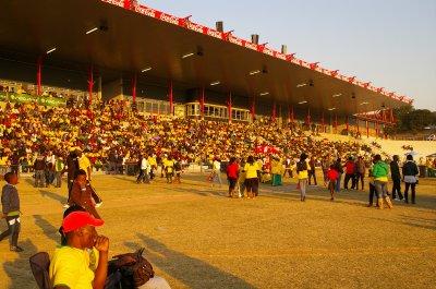 Fans at fan fest