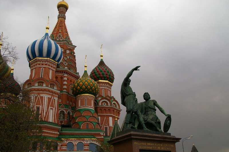 St Basils Moscow