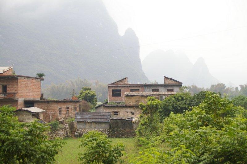 Village near Yangshuo