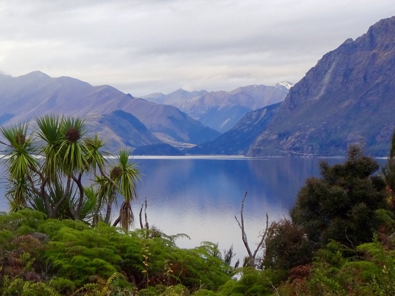 Another view of Lake Hawea.