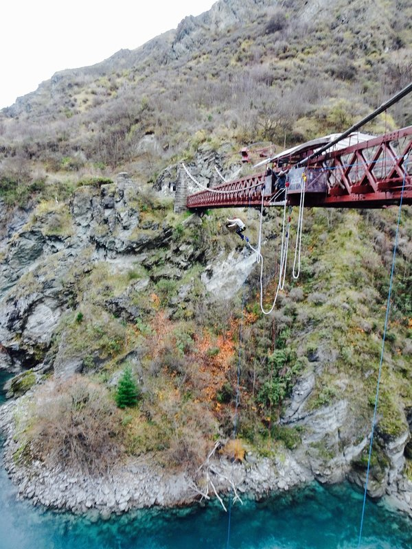 In 1988, the world's first commmercial bungee jumping business was started on this bridge.