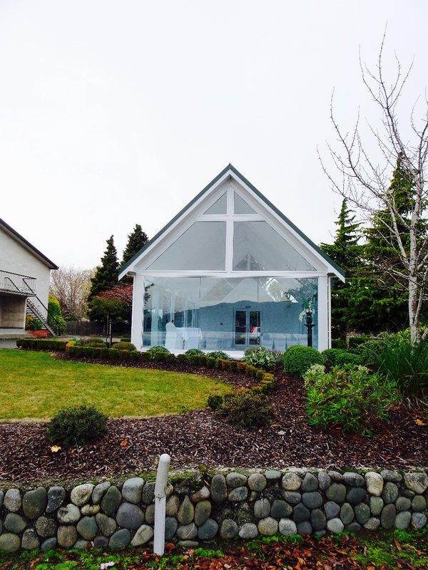 A lakefront glass chapel at Lake Te Anau.