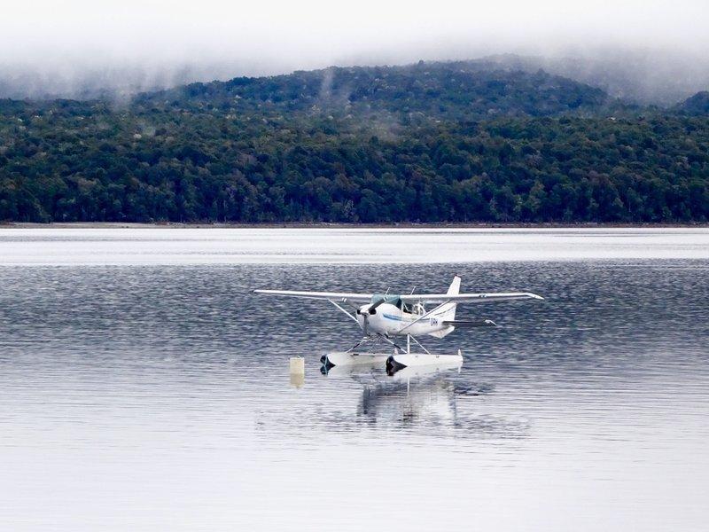 A seaplane at Lake Te Anau.