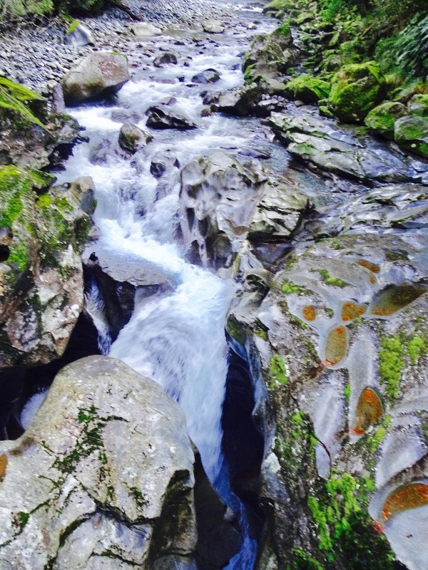 """The Cleddau River has created """"The Chasm"""" which starts here."""