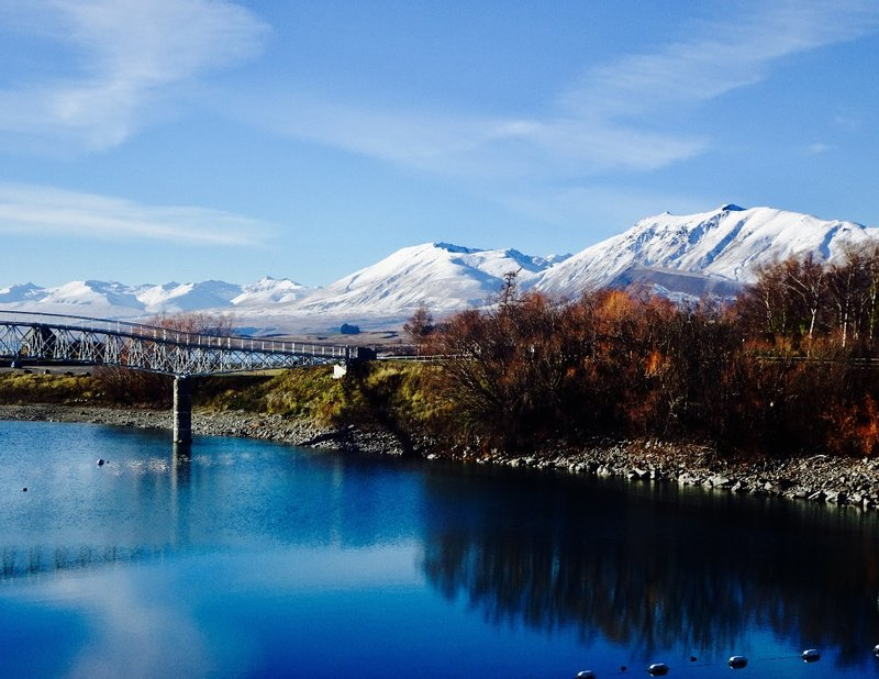 In my opinion, Lake Tekapo is about as pretty as it gets.