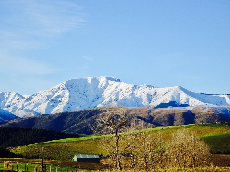 We had this view of Mt Dobson for several miles on our way to Ashburton.