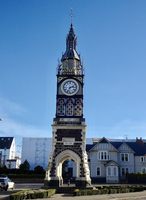 The Victoria Clock Tower was used to celebrate Queen Victoria's Diamond Jubilee.