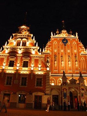 Riga - the house of Blackheads