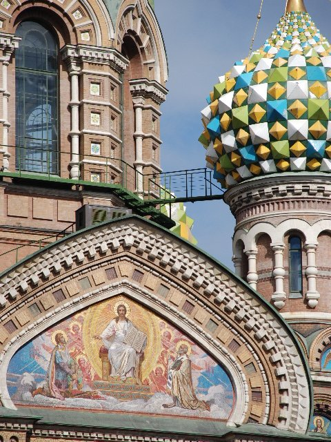 St.Petersburg - Church of the Saviour on the Spilt Blood (detail)