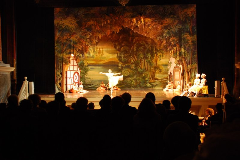 """St.Petersburg (Hermitage) - """"Giselle"""" at the Hermitage theatre"""