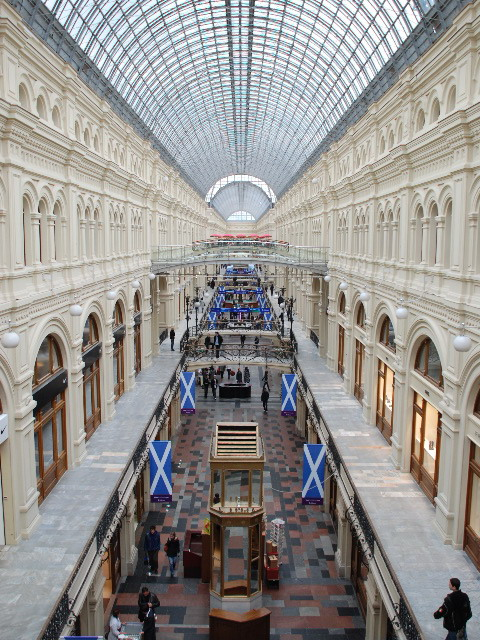 Moscow - Shopping Mall