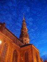 Riga - the Cathedral at night