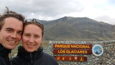 El Chalten is located in the national park