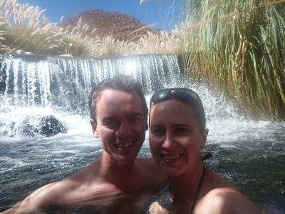 Thermal waters of Puricama