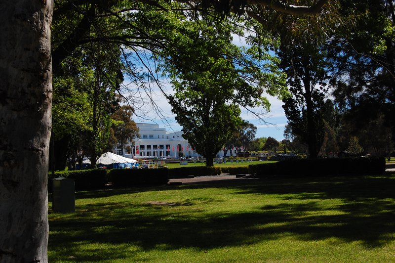 Garden at old parliament house