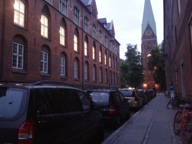 Vue de l'église Hellig Kors