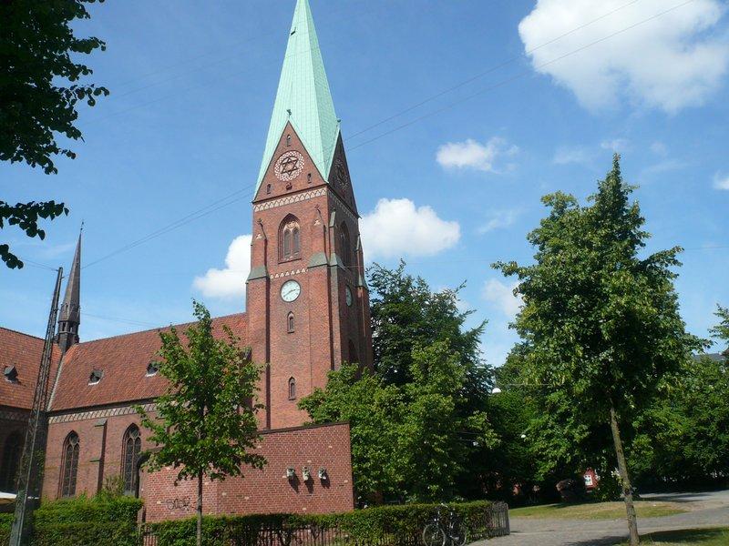 Vue de l'église Hellig Kors Kirke