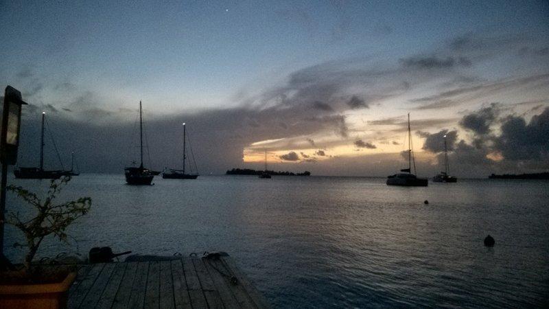 Evening lagoon view 2