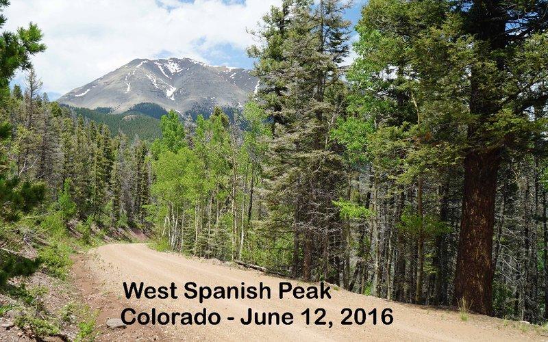 travel journal 2016 0612 spanish peaks 06 west peak