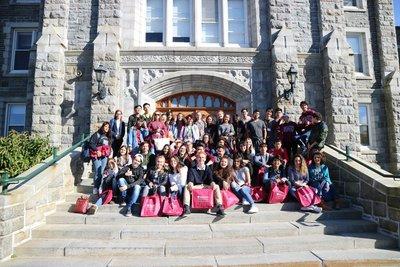 university trip