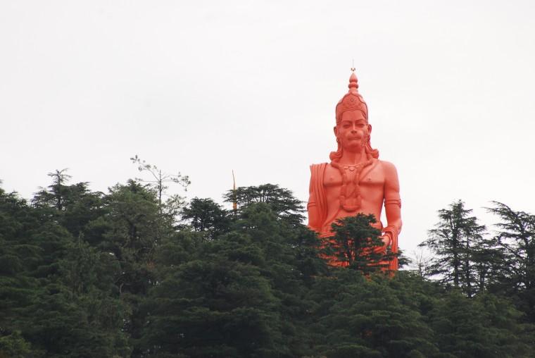 hanuman temple jakhu shimla 1