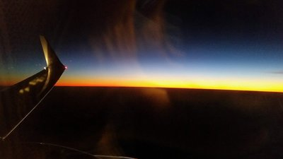 sunrise out of Cairns
