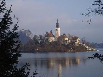 Bled Church, Slovenia
